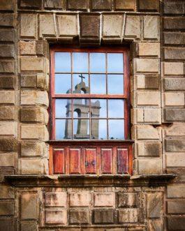 Ex-Convento de San Francisco 1 in Spiegel