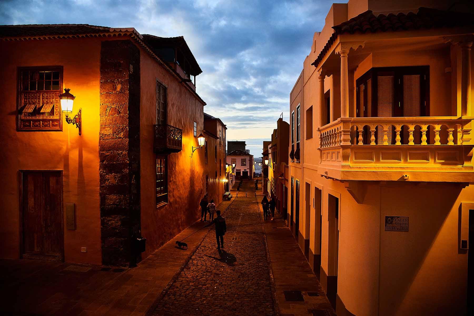 Garachico in der Nacht