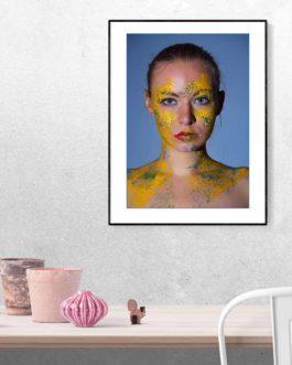 Buntes Frau Portrait 1