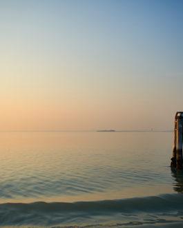 Sonnenuntergang, Lagune, Venedig 7