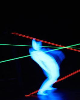 Tänzerin, abstraktes Foto 1